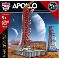Конструктор MOC BLOCKS M10003 Стартовая площадка Apollo Saturn V