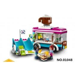 Конструктор Lepin 01048 Фургончик по продаже горячего шоколада аналог LEGO 41319 LEGO FRIENDS