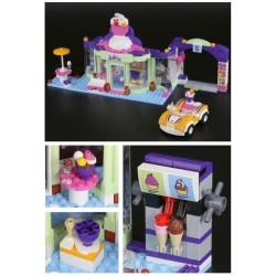 Конструктор Lepin 01051 Магазин замороженных йогуртов аналог LEGO 41320