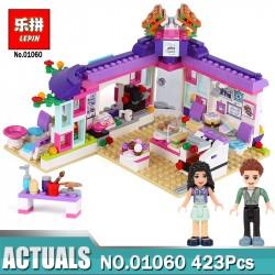 Конструктор Lepin 01060 Арт-кафе Эммы Аналог Lego 41336