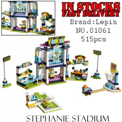 Конструктор Lepin 01061 Спортивная арена для Стефани Аналог Lego 41338