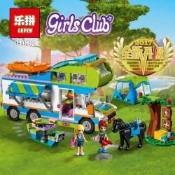 Конструктор Lepin 01062 Дом на колесах Girls Club