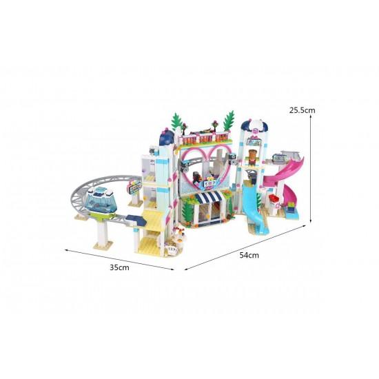 Конструктор Lion King 180077 Курорт Хартлейк Сити (бывший Lepin 01068) / Аналог Lego 41347