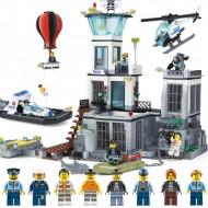 Конструктор 82006 KING&QUEEN Остров-тюрьма (бывший Lepin 02006), аналог Lego 60130