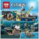 Конструктор Lepin 02012 Корабль исследователей морских глубин, копия Lego 60095