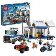 Конструктор Lepin 02017 Мобильный командный центр Аналог Lego 60139