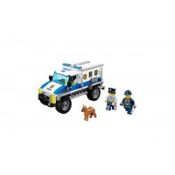 Конструктор Lepin 02019 Ограбление на бульдозере, копия Lego 60140 Сити