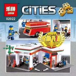Конструктор Lepin 02022  План города, копия Lego 10184 City