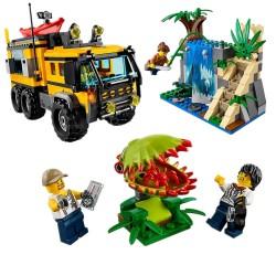 Конструктор Lepin 02062 Передвижная лаборатория в джунглях Аналог Lego 60160