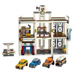 Конструктор Lepin 02073 Гараж двухуровневый копия Lego 4207 City