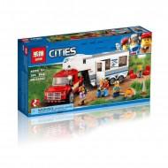 Конструктор Lepin 02093 Дом на колёсах, Аналог Lego 60182