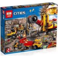 Конструктор Lepin 02102 Шахта Cities, копия Lego 60188 City
