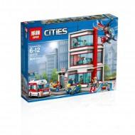 Конструктор Lepin 02113 Городская больница, аналог Lego City 60204