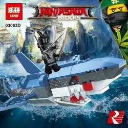 Конструктор Lepin 03063 (Набор по 8 шт), копия Lego Ниндзя ГО