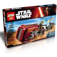 Конструктор Lepin 05001 Спидер Рей Звездные Войны, аналог Lego 75099 Star Wars