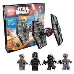 Конструктор Lepin 05005 Истребитель TIE особых войск Первого Ордена, копия LEGO 75101 Star Wars