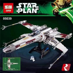 Конструктор Lepin 05039 Star Plan Истребитель X-WING RED FIVE
