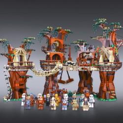 Конструктор Lion King 180016 Деревня Эвоков, бывший Lepin 05047 / Аналог Lego 10236