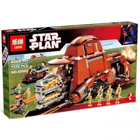 Конструктор Lepin 05069 Star Plan  Многоцелевой Транспорт Торговой Федерации