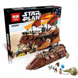Конструктор Lepin 05090 Star Plan Парусная баржа Джаббы
