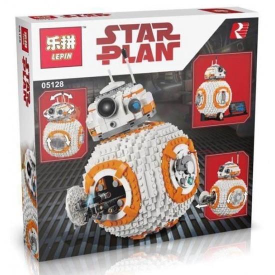 Конструктор Lepin 05128 Дроид BB-8, копия Lego 75187 Star Wars