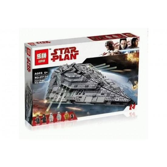 Конструктор Lepin 05131 Звездный разрушитель первого ордена Аналог Lego 75190 Star Wars