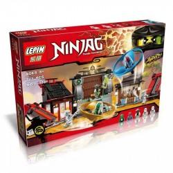 Конструктор Lepin 06033 Аэроджитцу: Поле битвы NINJAGO копия LEGO 70590