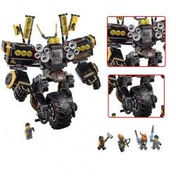 Конструктор Lepin 06069  Робот землетрясений Ninjasaga, аналог Lego 70632 Ninjago (Ниндзяго)