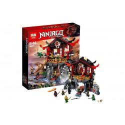 Конструктор Lepin 06078 Lepin Храм Воскресения, копия Lego 70643 Ninjago