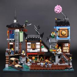 Конструктор Lepin 06083 Порт Ниндзяго Сити / Аналог Lego 70657