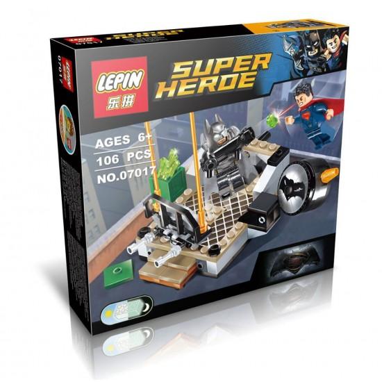 Конструктор Lepin 07017 Бэтмен против Супермена: Битва супергероев - аналог Lego 76044 Super Heroes