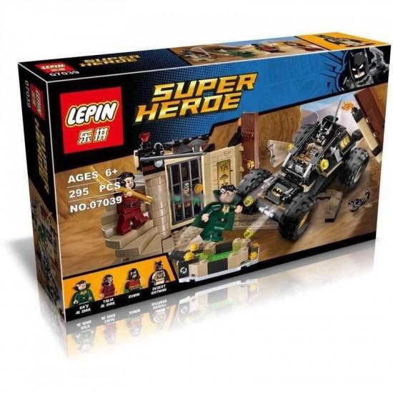 Конструктор Lepin 07039 Спасение от Ра'с аль Гула - аналог Lego 76056