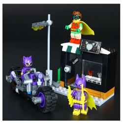 Конструктор Lepin 07058 Погоня за Женщиной-кошкой -  Batman Movie