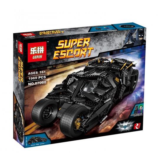 Конструктор Lepin 07060  Super Escort Бэтмобиль - Тумблер