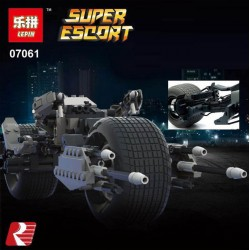 Конструктор Lepin 07061 Bat-Pod Collector's - аналог Lego 5004590