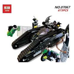 Конструктор Lepin 07067 Бэттанк: Ридлер и Убежище Бэйна - аналог Lego 7787 Super Heroes