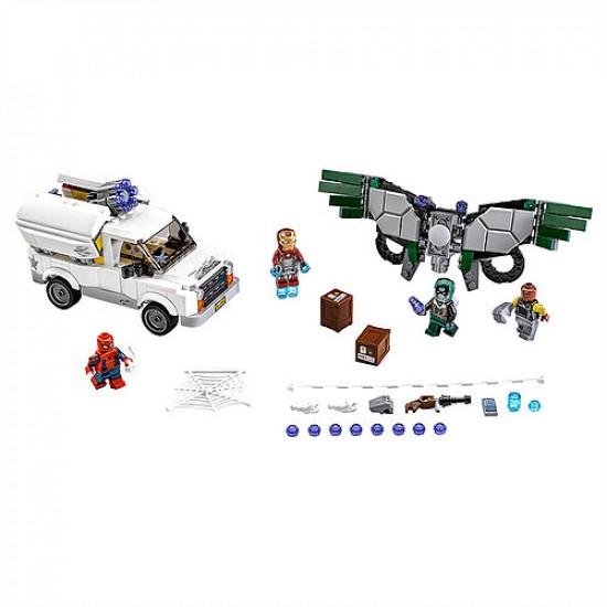 Конструктор Lepin 07076 Берегись Стервятника - аналог Lego 76083 Super Heroes