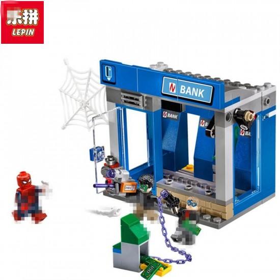 Конструктор Lepin 07089 Ограбление банкомата - аналог Lego 76082 Super Heroes