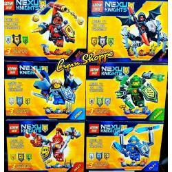 Конструктор Lepin 14001 Нексо рыцари 12шт - копия Lego Nexo Knights