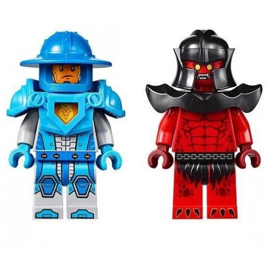Конструктор Lepin 14009 Lepin Безумная катапульта копия Lego 70311 Нексо рыцари