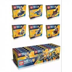 Конструктор Lepin 14015 Нексо рыцари 6 в 1, точная копия Lego Nexo Knights