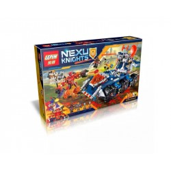 Конструктор Lepin 14022 Lepin Башенный тягач Акселя Axl's Tower Carrier Нексо рыцари, копия Lego 70322