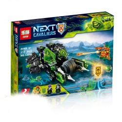 Конструктор Lepin 14040 Боевая машина близнецов (аналог Lego 72002) Nexo Knights