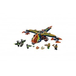 Конструктор Lepin 14044 Аэро-арбалет Аарона копия Lego 72005 Nexo Knights
