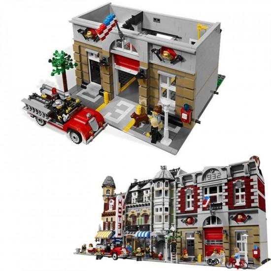 Конструктор Lepin 15004 Пожарная Команда