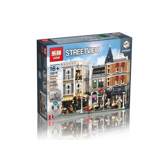 Конструктор Lepin 15019 Городская Площадь / Аналог Lego 10255
