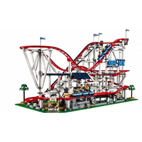 Конструктор Lepin 15039 Американские горки в парке развлечений