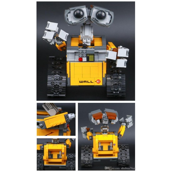Конструктор 83003 KING&QUEEN ВАЛЛ-И (бывший Lepin 16003), аналог Lego 21303