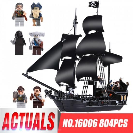 Конструктор King 83006 (бывший Lepin 16006) Черная Жемчужина, аналог Lego 4184