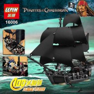 Конструктор Lepin 16006 Черная Жемчужина, аналог Lego 4184